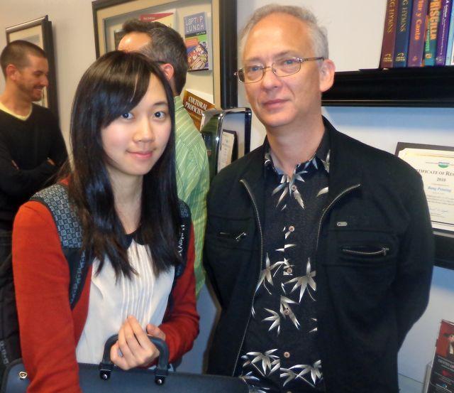 H. Lang and Mago Huang